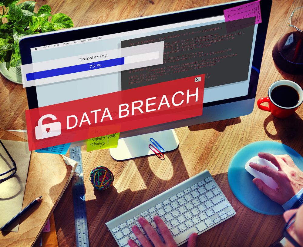 Computer with data breach written on screen Cyber Security Awareness Month: How are UK businesses faring?