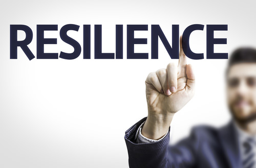 ManPointing toThe WordResilience How technology can help make your business more resilient?