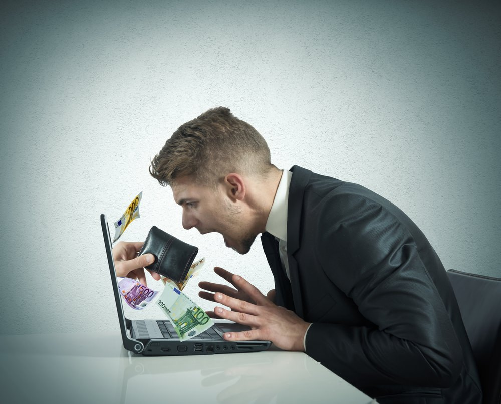 ManShoutingAtLaptop Latest Cyber Security woes for UK SMEs and customers