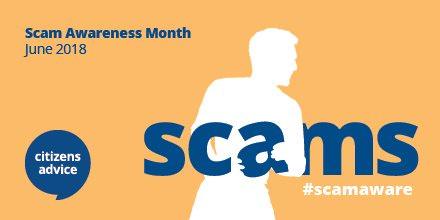 ScamAwarenessMonthJune2018 Huge business data breach in Scam Awareness Month