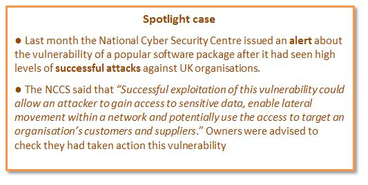 SpotlightMalwareSnipJPG A Glossary of Cyber Terms: Do you know your Bots from your Breaches?